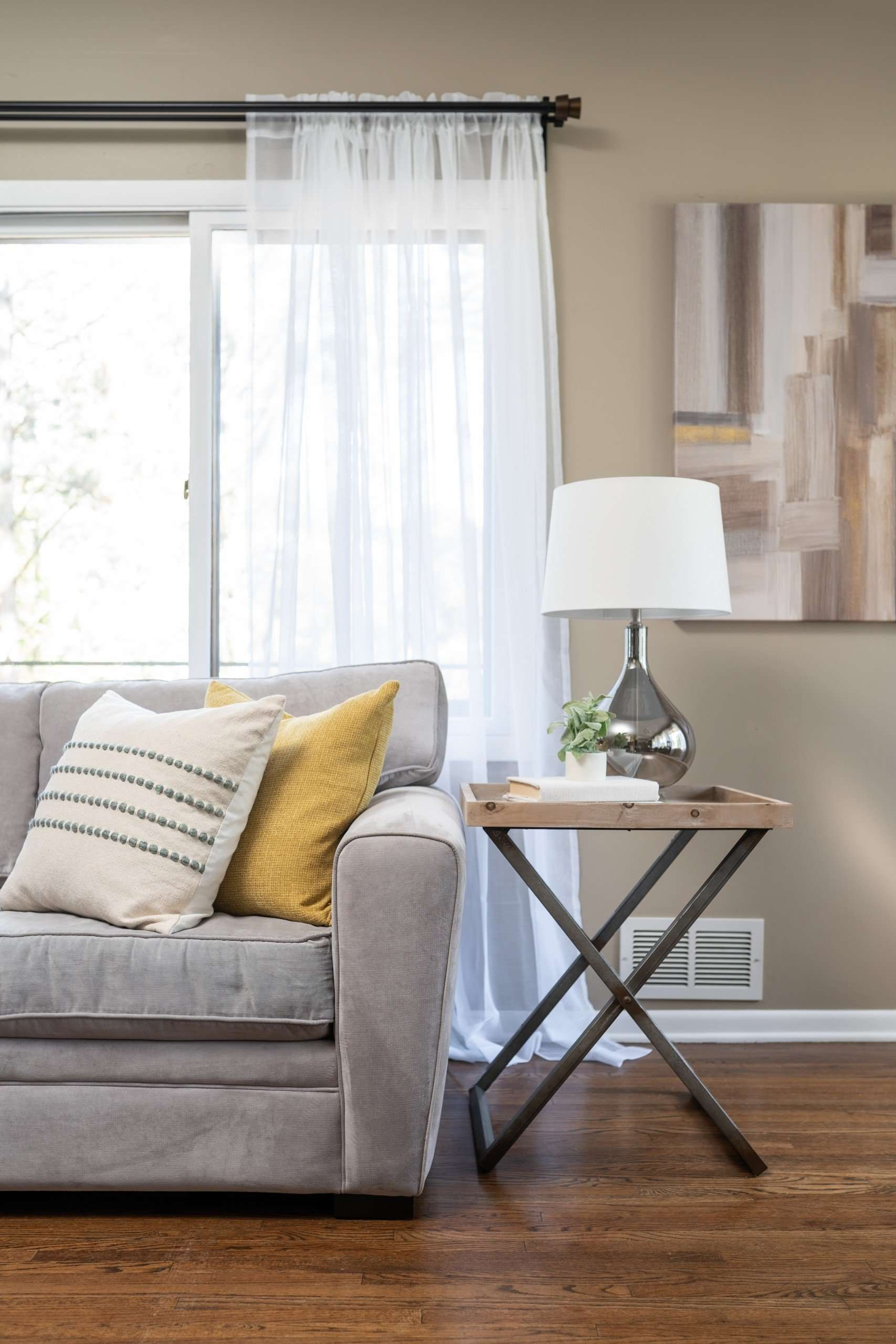 Living Room | Vacant Home | St. Paul | Minnesota